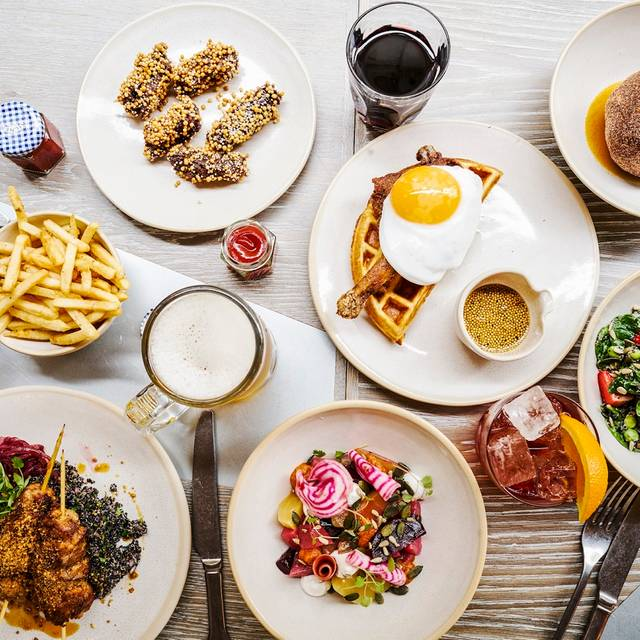 The Duck and Waffle London